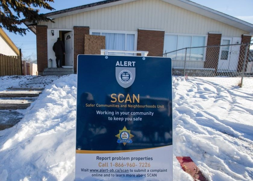 There are many programs available to keep our neighbourhoods safe. Photo source:Aryn Toombs /CALGARY HERALD