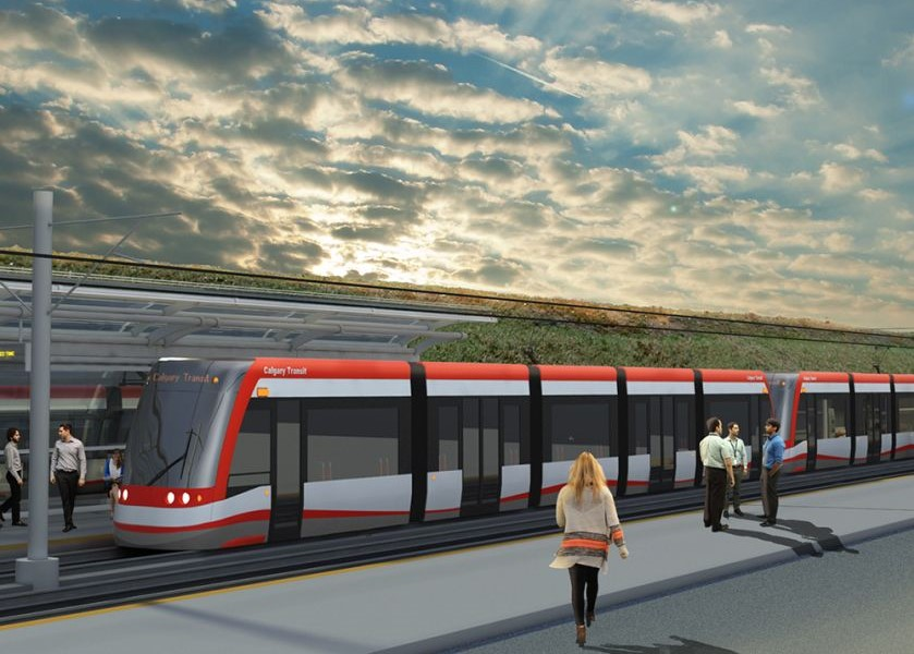 There will be utility work being done near Pop Davies Park in Millican-Ogden in preparation for the Green Line LRT. Photo source: City of Calgary