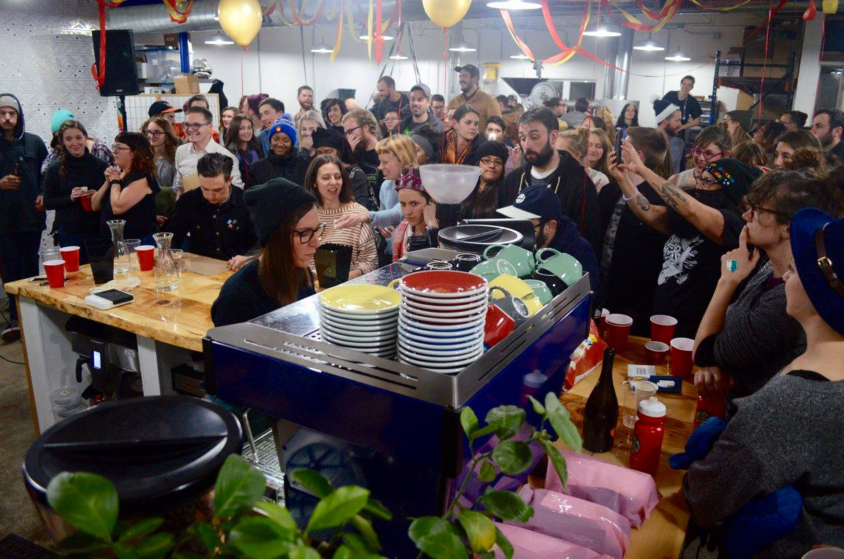 Cherry Roast 2016 Event Crowd