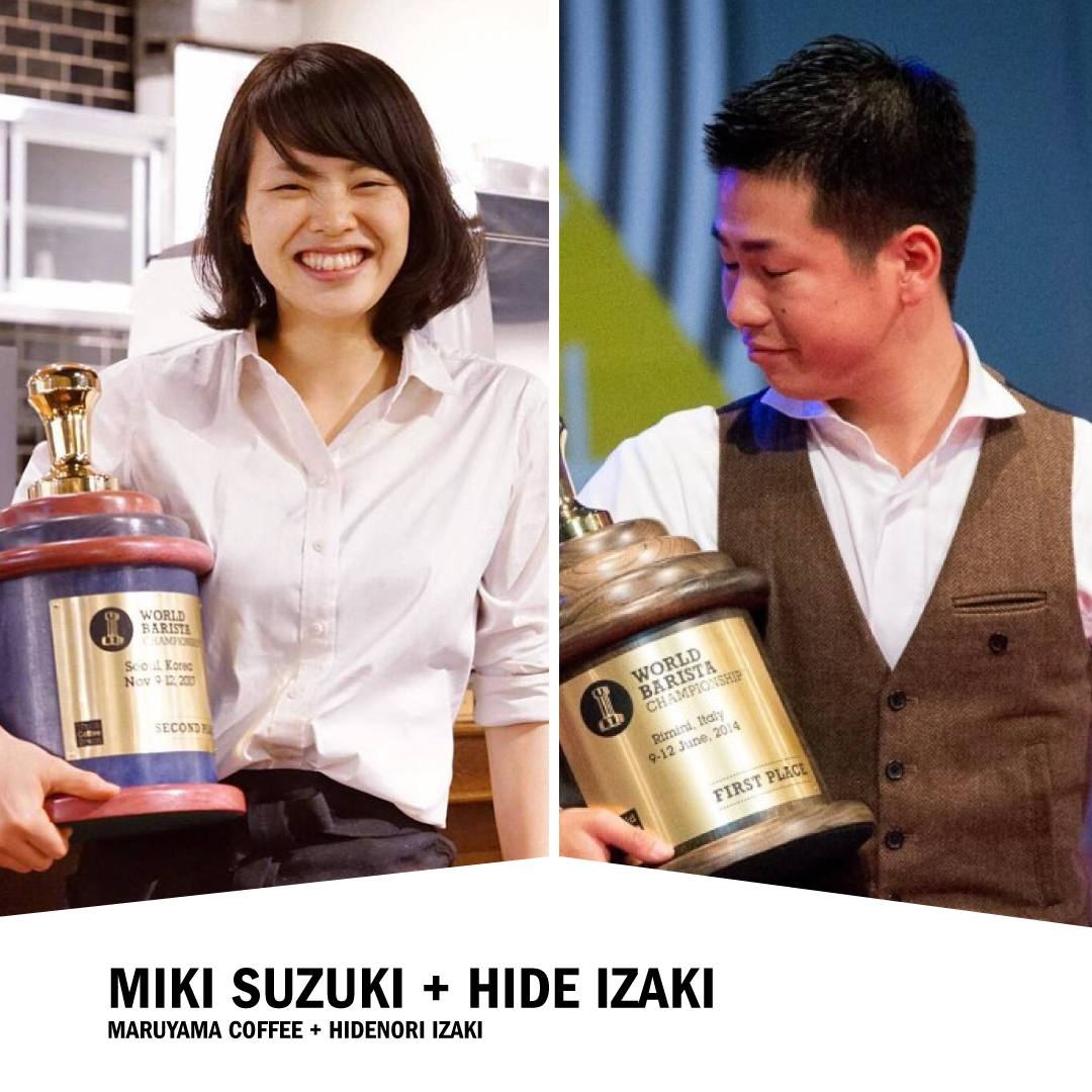 Miki Suzuki + Hide Izaki