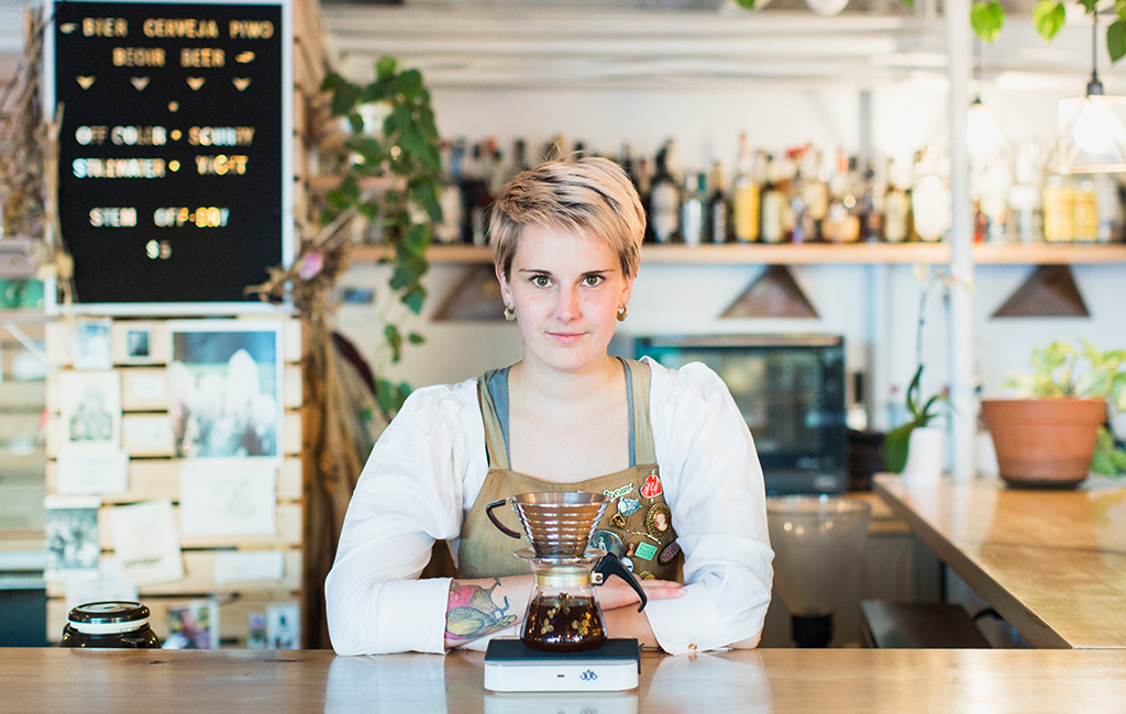 Elle Jensen |    Cherry Roast    &    Amethyst Coffee