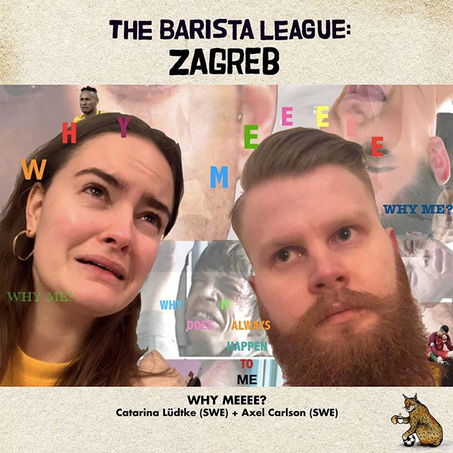 The next competitors for The Barista League: Zagreb are… Team Why Meeee? A sentiment we can get behind. Catarina Lüdtke and Axel Carlson met working together @dropcoffeeroasters! Axel placed 3rd and Catarina 6th in The 2019 Swedish Brewers Cup *and* Catarina also placed 2nd in The @poursteady Brewers Cup!  Seems like these two DEFINITELY know how to brew a tasty cup of coffee. Up for the challenge, Zagreb? ⚡️ And next up is… Team Bearded Bastards, Grzegorz Tota and Maciej Piwowar! Grzegorz is the Head Barista @wesolacafe and the 2019 Polish Cup Tasters runner-up. Their beards do look impressive... ⚡️ And finally… Team KAVI! Victoria Rovenskaya and Kate Krivoviaz are back as a new dynamic duo… *both* having competed in The Barista League: Helsingborg! Both killer trainers at their respective cafes, they are joining us all the way from Moscow!Excited to have you both back! 💫