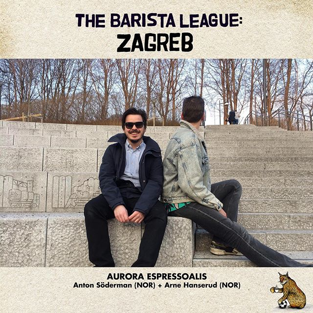 Up next in our line-up of teams competing in The Barista League: Zagreb… TEAM AURORA ESPRESSOALIS! Anton Söderman and Arne Hanserud are coming to Croatia from Oslo, Norway! Anton was the 2018 Norwegian Cup Tasting Champion! Arne is a Concept Store Manager @solbergoghansen! 💫 And then… THE AVENGERS! Karlo Puric and Dusan Keric are Zagreb locals! Do we think there will be a home field advantage? Their chance at success could also be due to all the awards they've both won around Croatia! These two met at a latte art competition where one of them was a competitor and the other was a judge! We're excited that you've joined forces for The Barista League, guys! 💫 And finally… TEAM BREWS LEE! Mohamed Jelali and Antonio Farsace had been competing along side each other (against each other?!) in coffee competitions all over London… UNTIL NOW! They're passionate about coffee and love a challenge. Seems like a fortunate combination for us! 🎉🎉🎉
