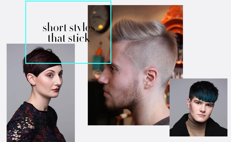 Hays Salon men's and short hair styles