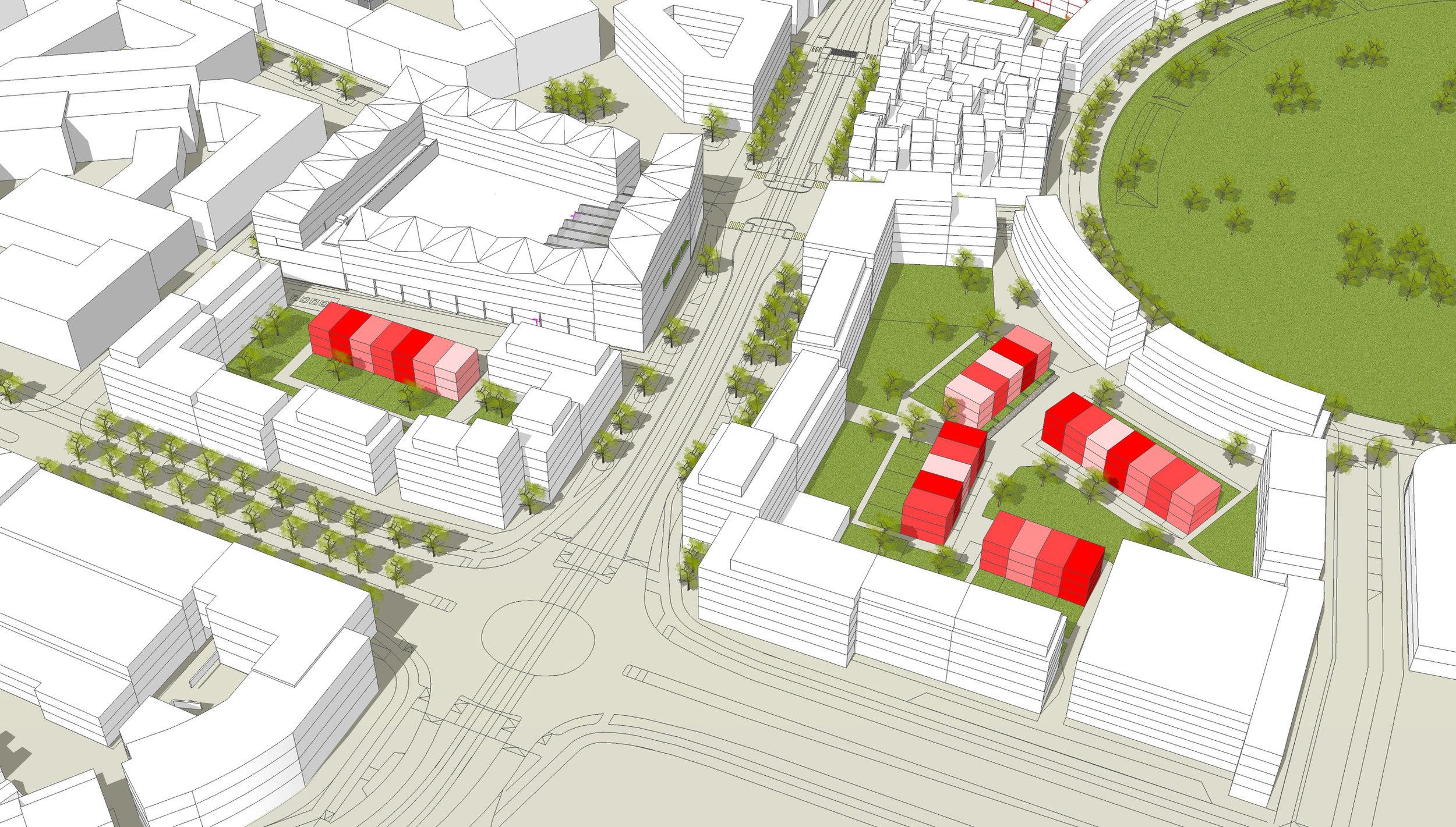 Image of planned Brunnshög district, courtesy of Lunds Kommun