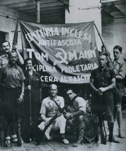 Thomas battalion in Spain