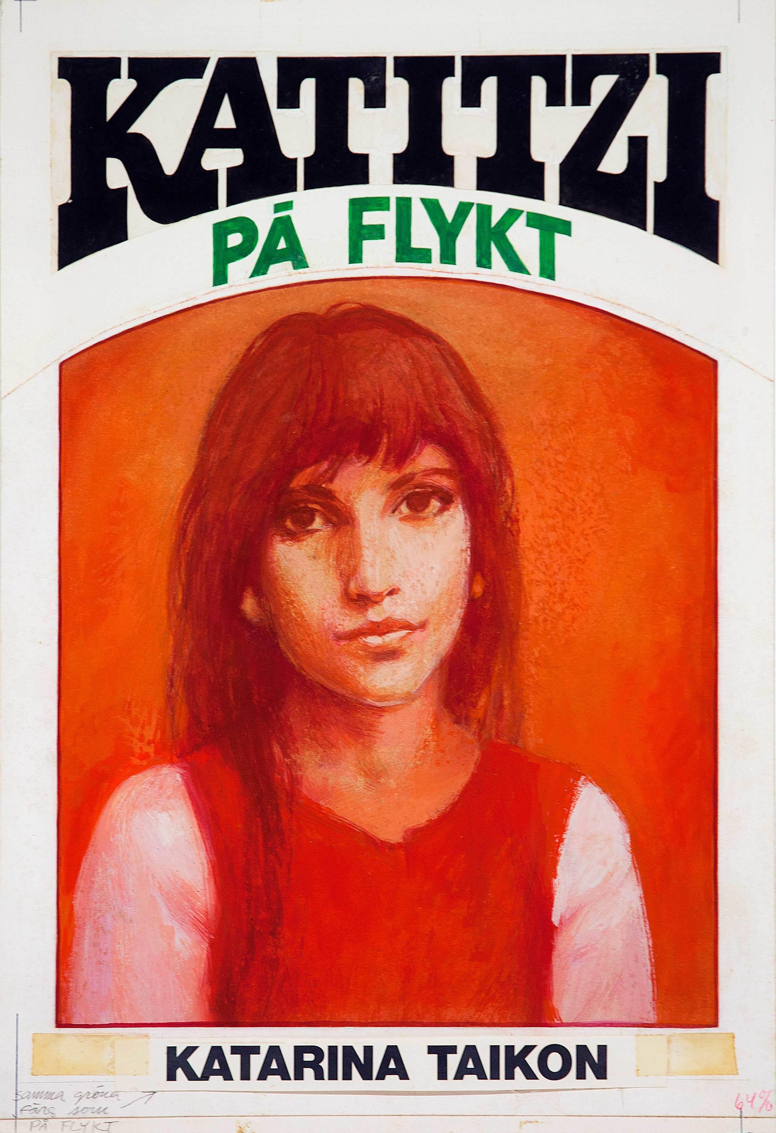 Björn Hedlund illustrerade de tidigare böckerna och serierna om Katitzi.