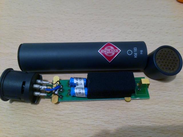 Copy of Neumann KM83 - rewiring