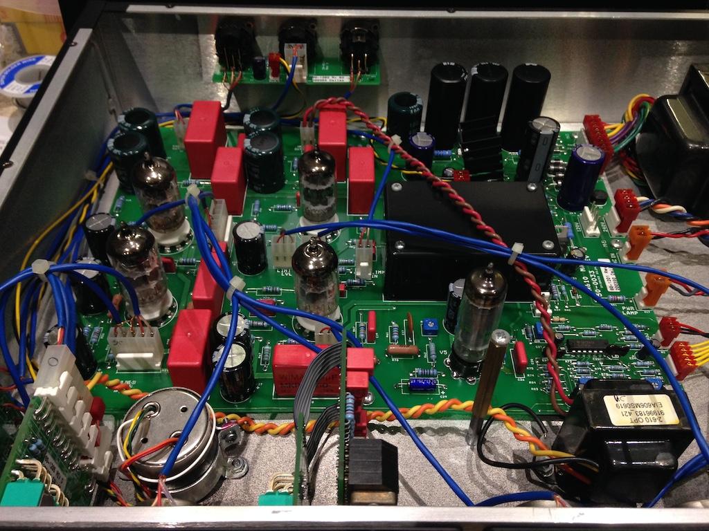 Universal Audio 610 - retube, calibration, servicing