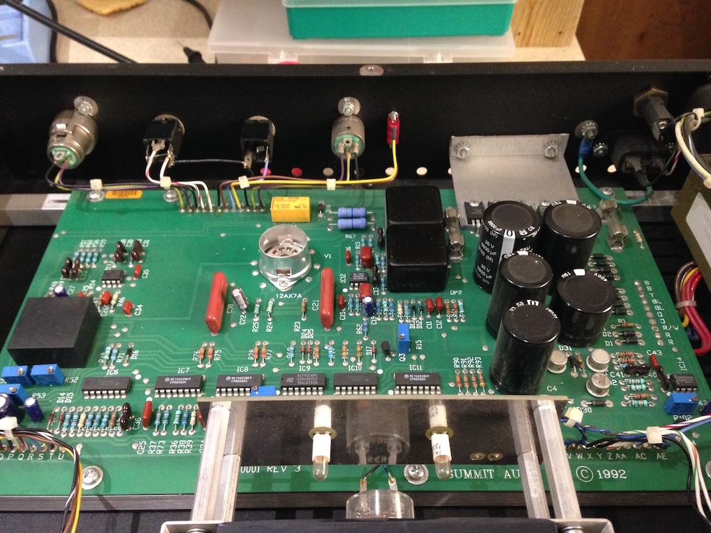 Copy of Summit Audio TLA100 - repair, retube, calibration