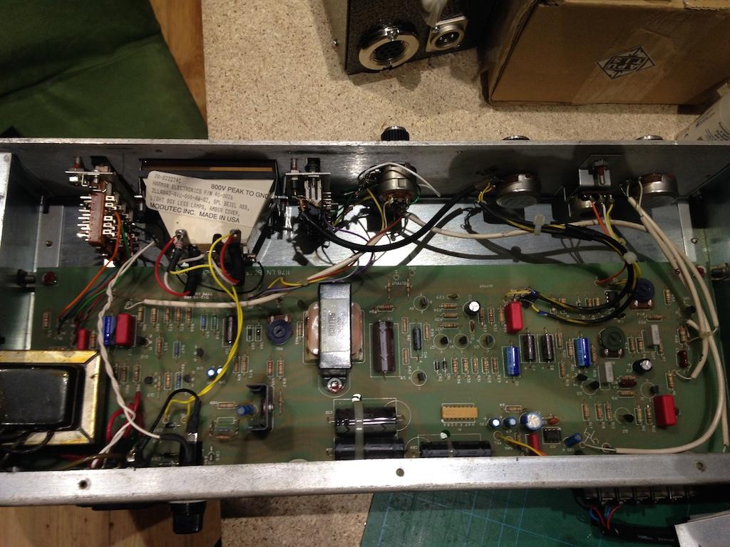 Urei 1176 - recap, servicing, calibration