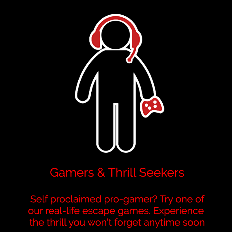 Gamers and Thrill Seekers