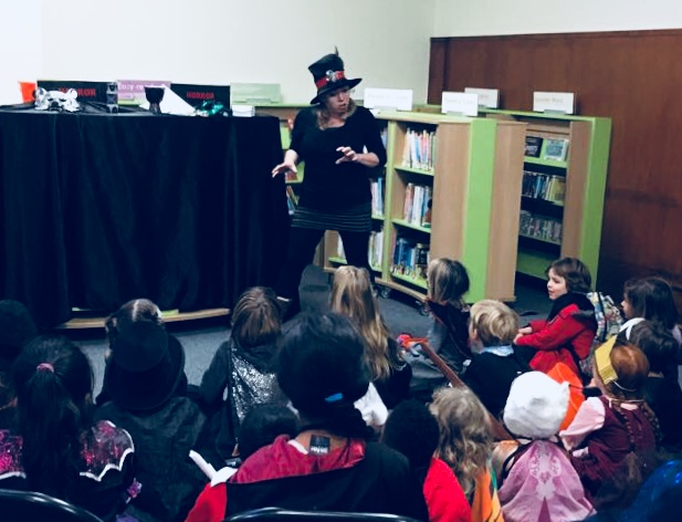 Halloween at Stoke Newington Library