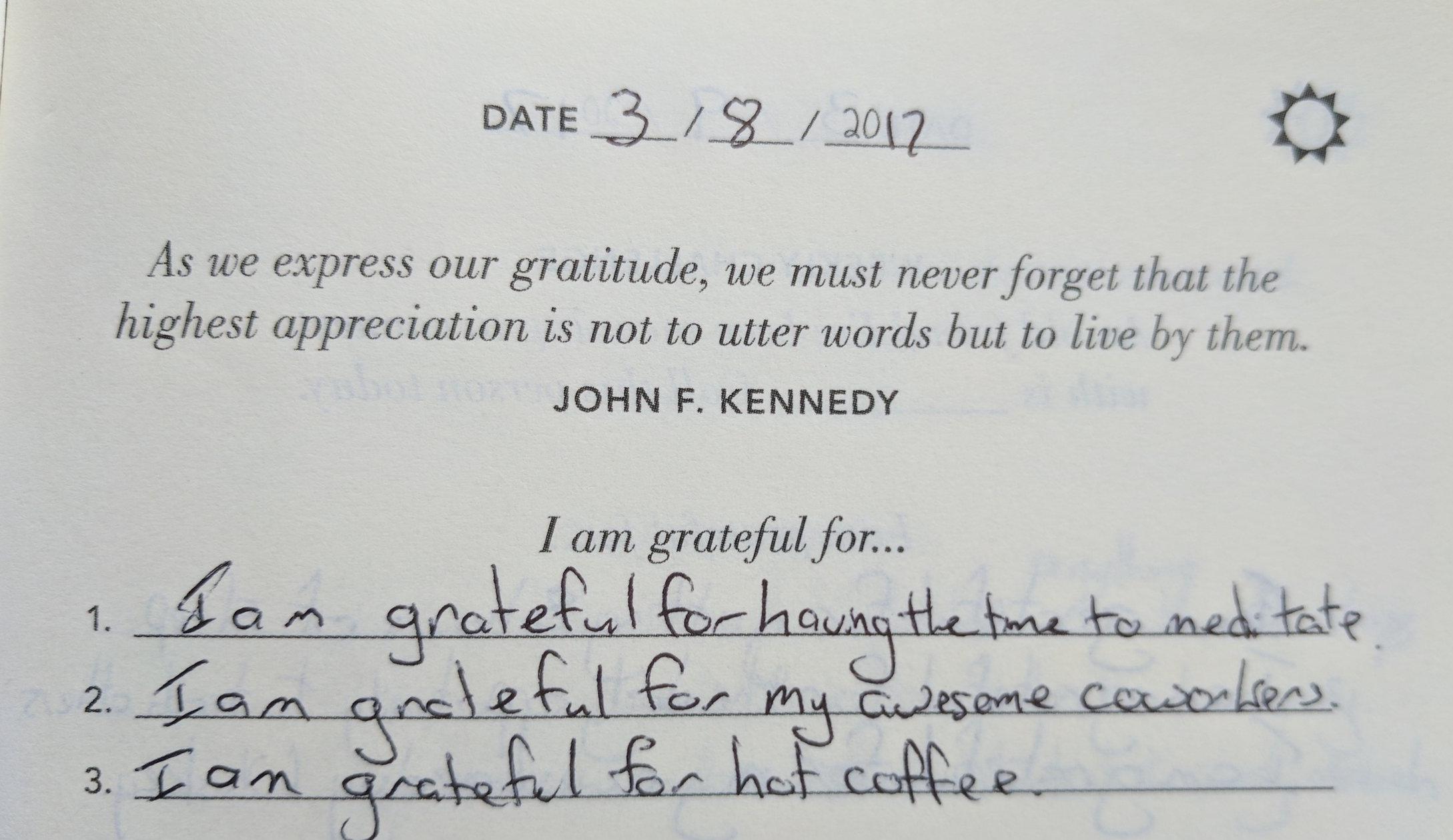 The Five Minute Journal Review Closeup Morning ritual Grateful.jpg