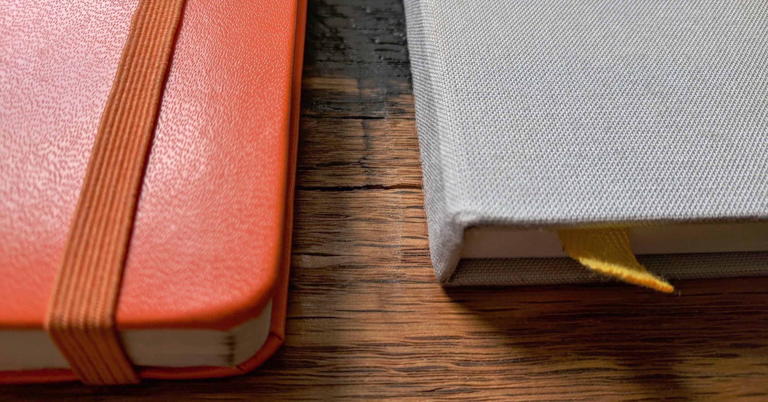 Baron Fig Confidant Notebook Review Leuchtturm Cover Texture Comparison.jpg