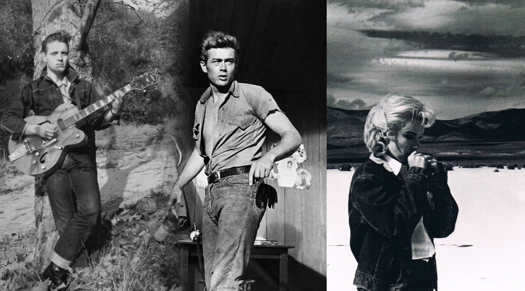 L: ©Denim From Cowboys to Catwalks Centre: ©Jeans Des Heros Right: ©Denim From Cowboys to Catwalks