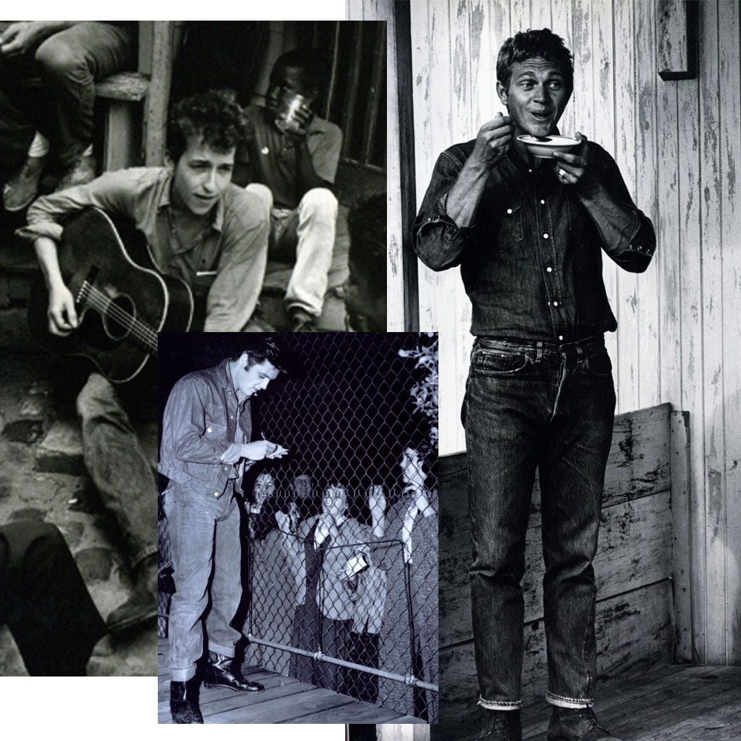 Image sourced from ©Denim from cowboys to catwalks; a visual history of the worlds most legendary fabric (2002)