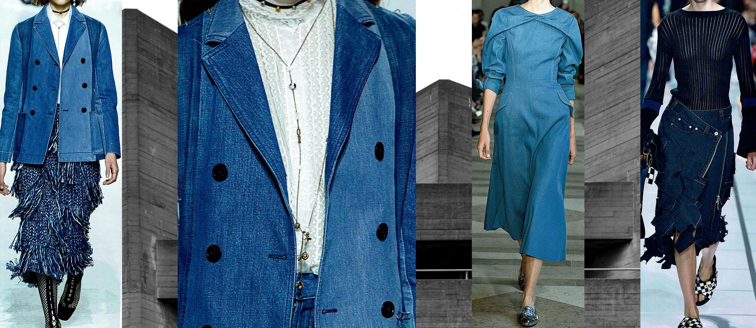Designers (from left to right): Dior, Dior close up, Carolina Herrera, Sacai