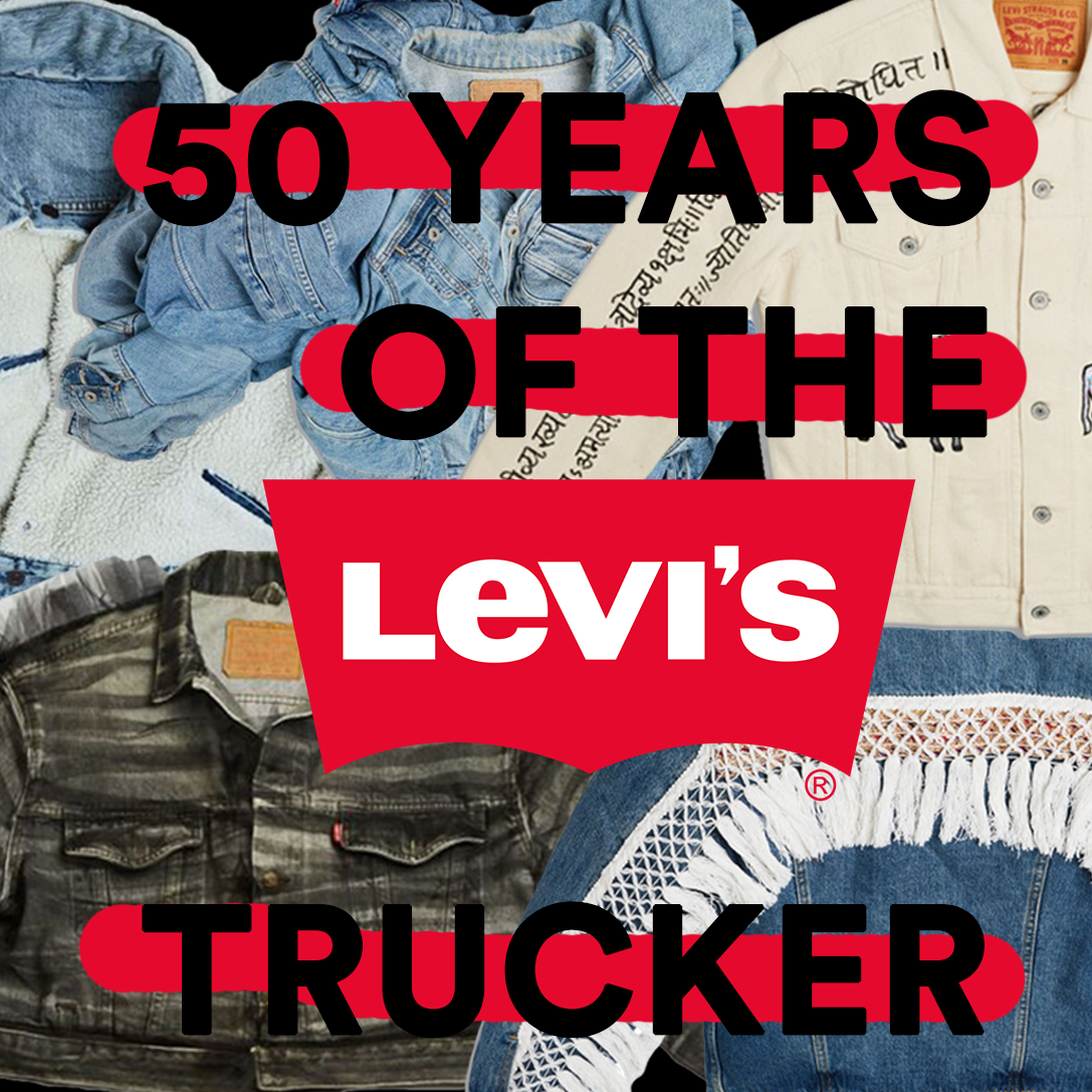Levi's Collaborate with 50 Celebrities to create 50 custom Trucker Jackets