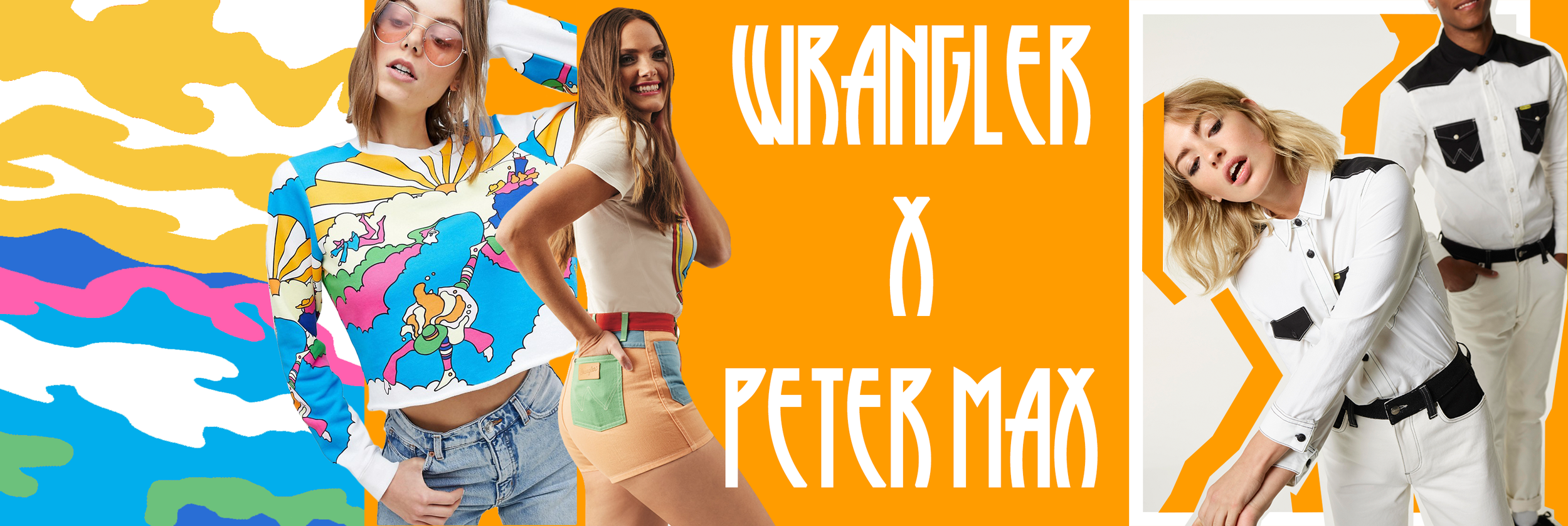 Peter Max for Wrangler, Celebrating 70 years of Wrangler