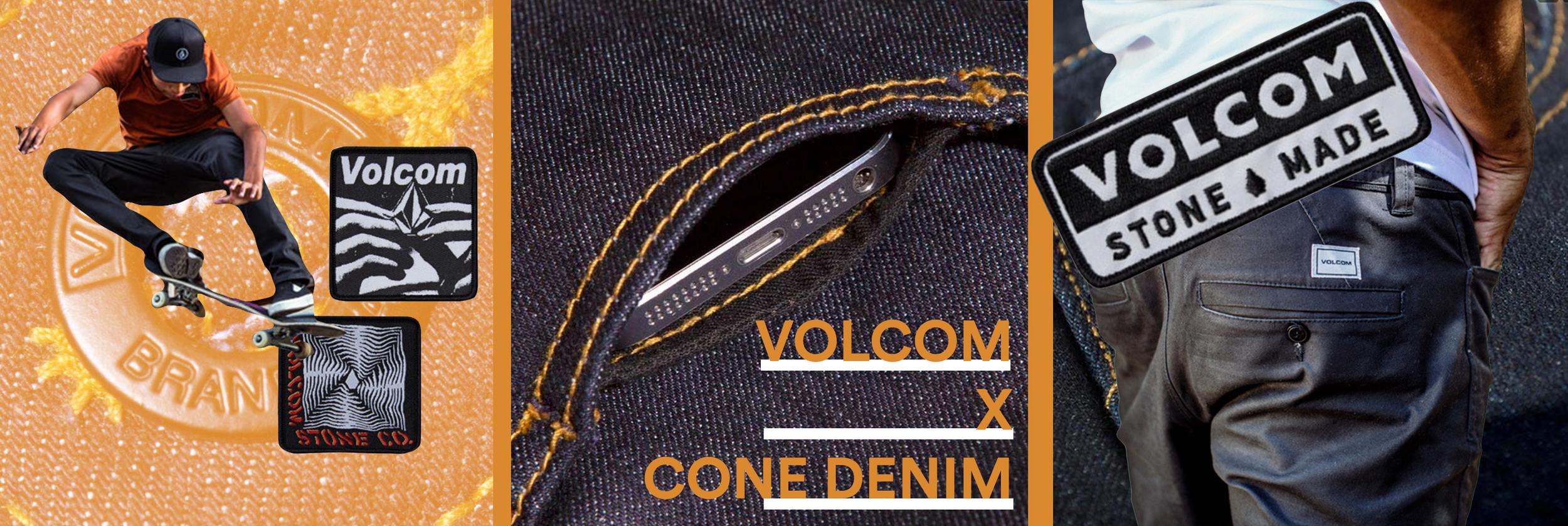 Volcom X Cone Denim Mills