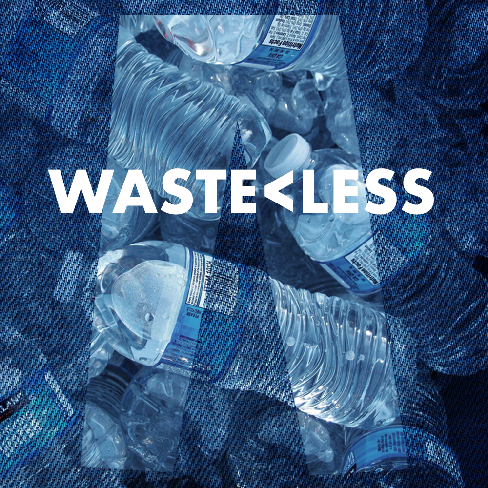 Various brands such as Levi's are now making it possible to use waste plastic bottles for good…Denim