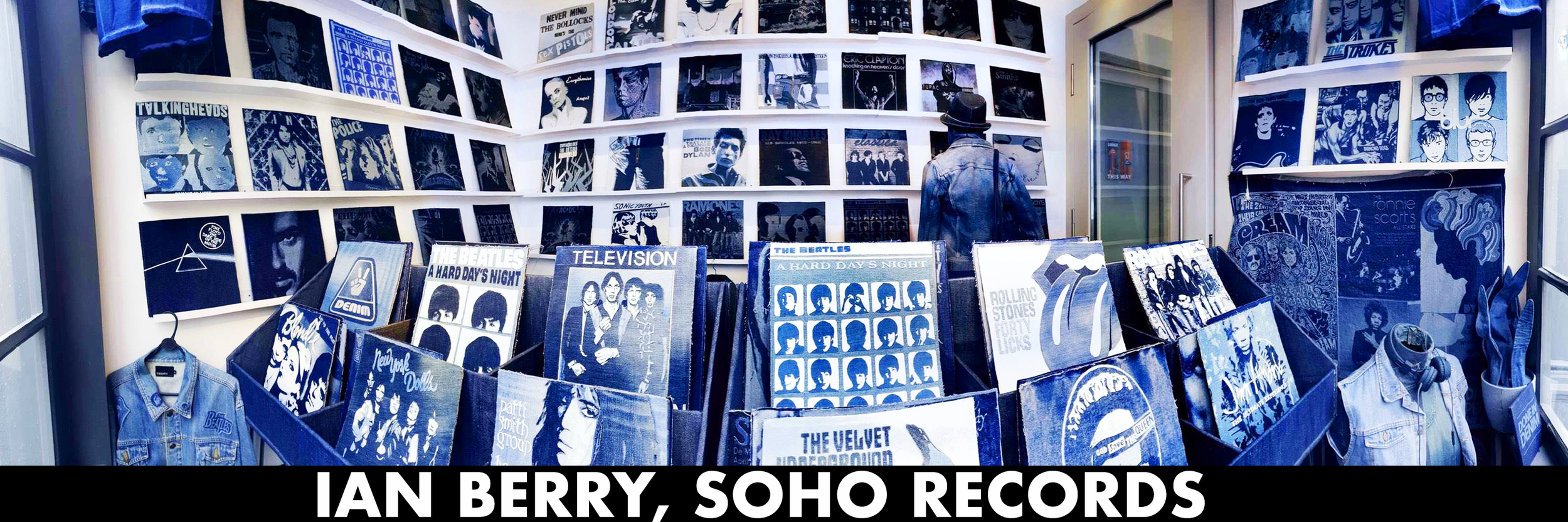 Ian Berry 'Soho Records' Exhibition @ The Smallest Gallery in Soho - http://www.ianberry.org/soho-records/