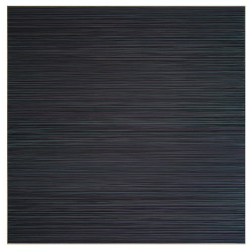 Lars Strandh, Untitled, acrylic on canvas, 59 by 59 inches.
