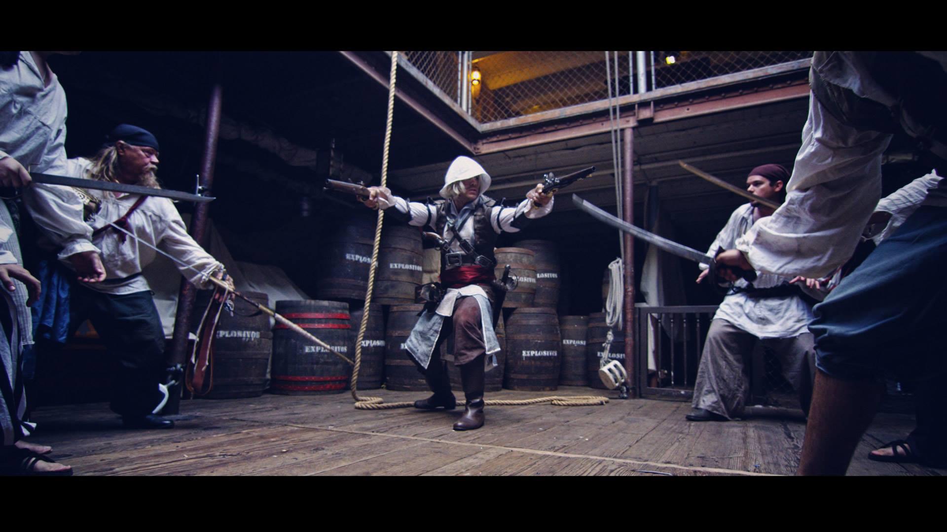 Assassin's Creed: The Devil's Spear (short film) - movie still courtesy of Corridor Digital