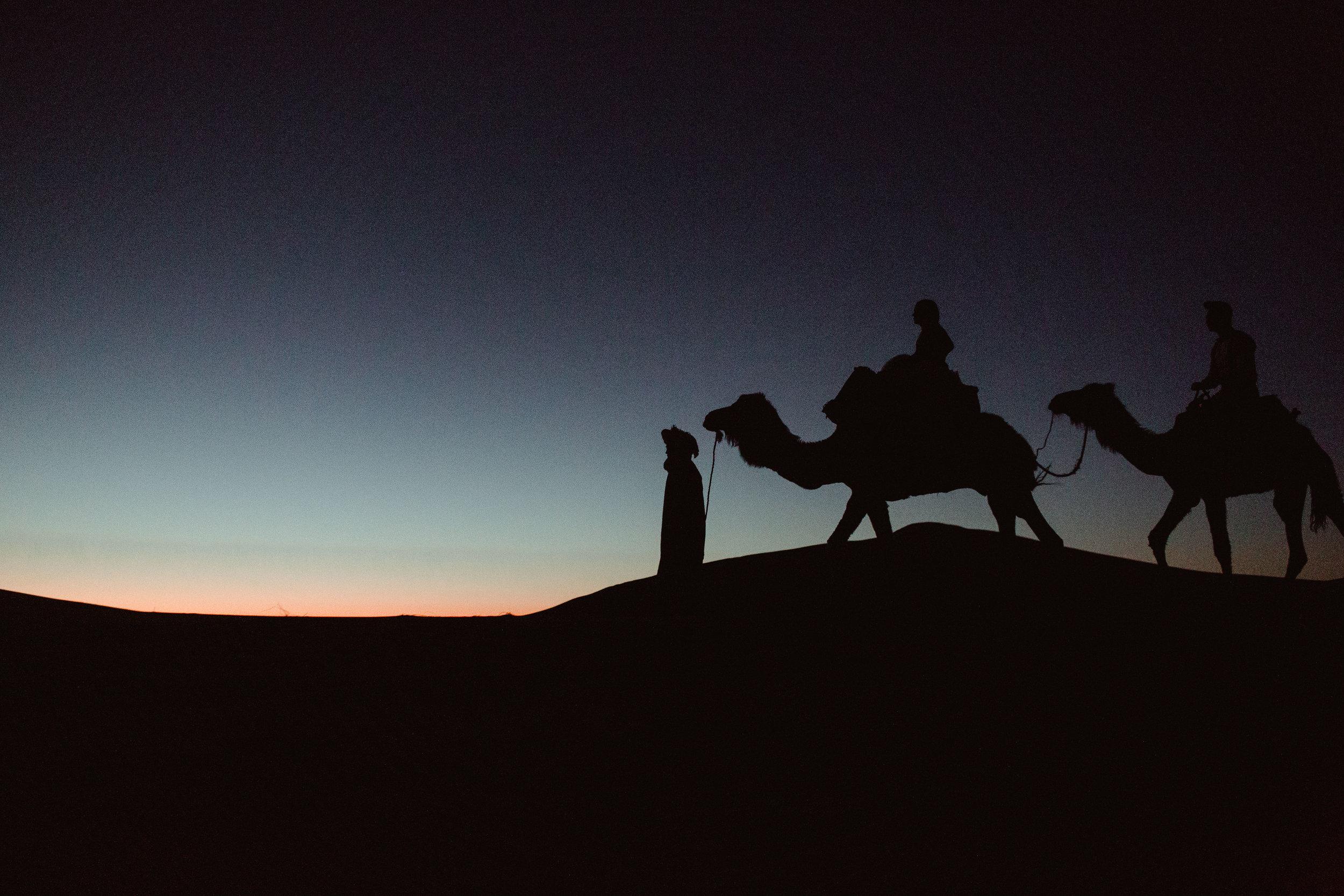 Sahara Desert Wedding Photo