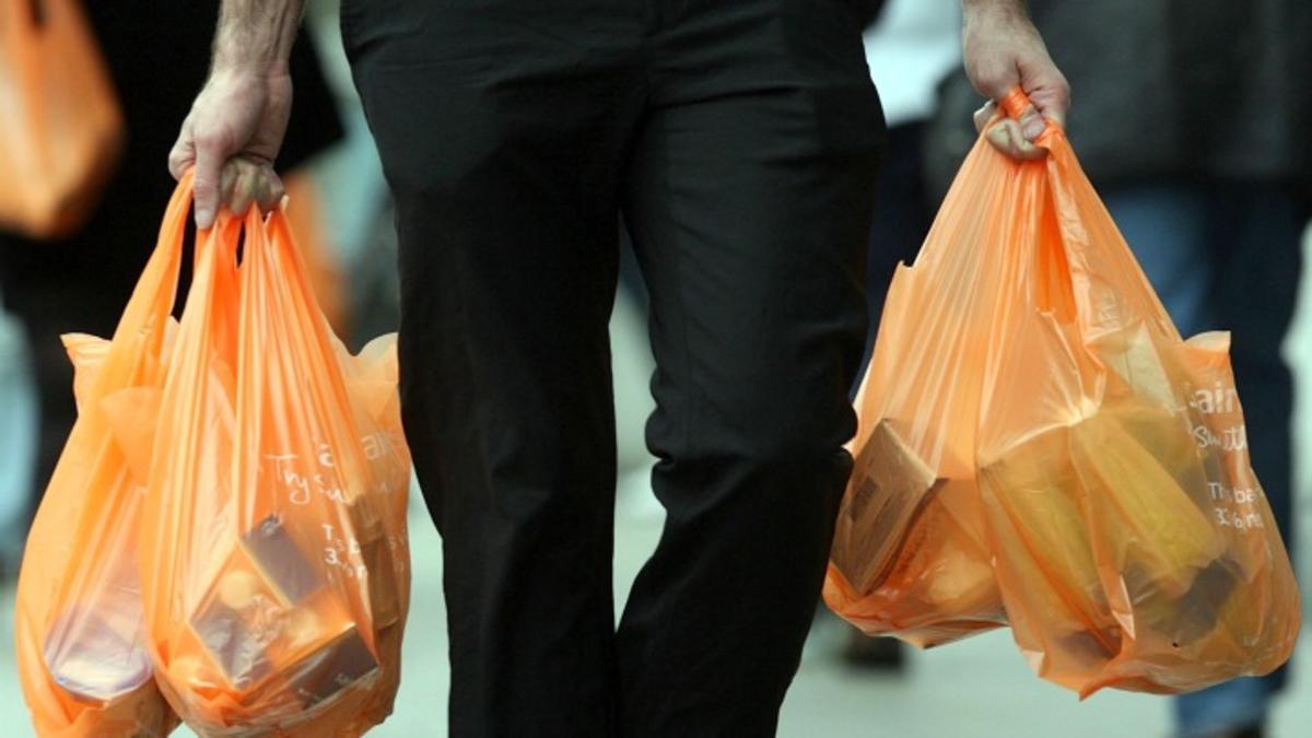 Marine Debris Plastic Bags