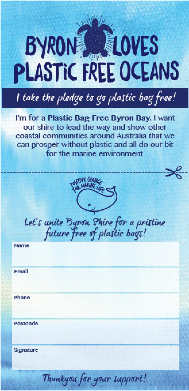 Plastic Bag Free Byron Bay