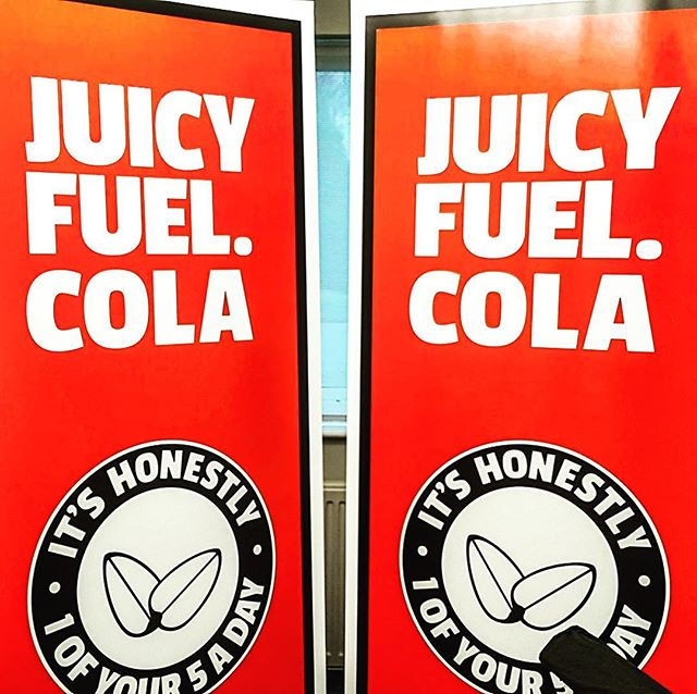 Juicy Furl Cola.......... Unbelievably 1 of your 5 a day with no added sugar and no artificial sweeteners 🍇🍋🍒 #healthychoices  #alternative  #earlyadopter  #plasticfree
