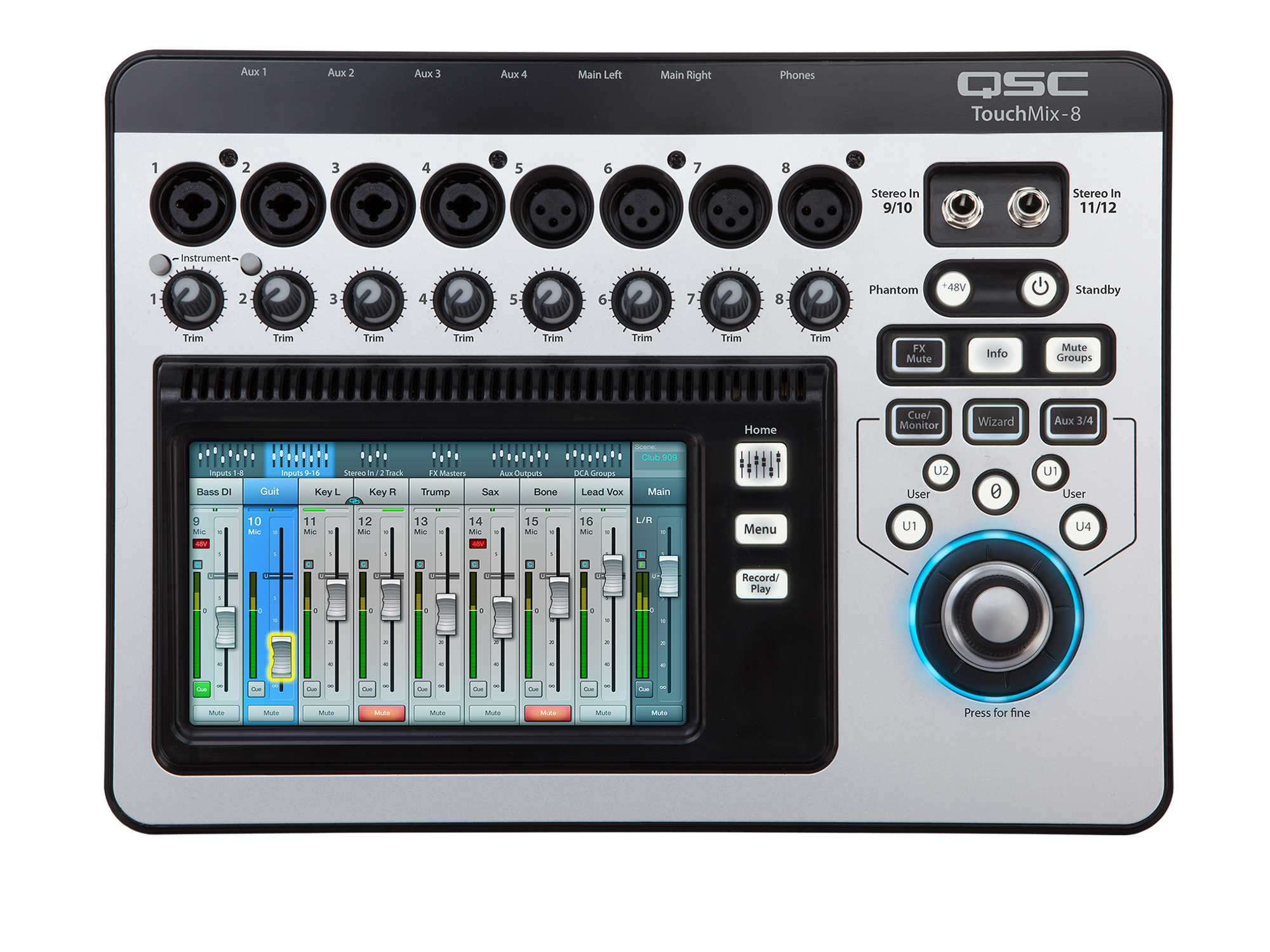 QSC TOUCHMIX 8  [DIGITAL MIXER]
