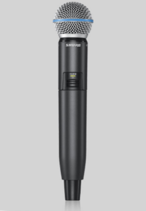 SHURE DIGITAL WIRELESS BETA 58A HANDHELD MIC