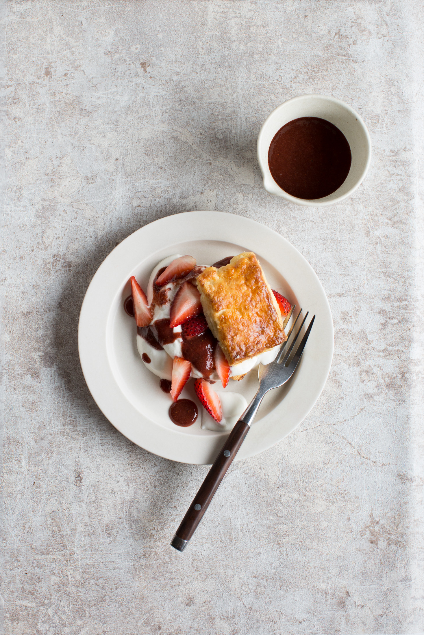 草莓酥餅-修圖前