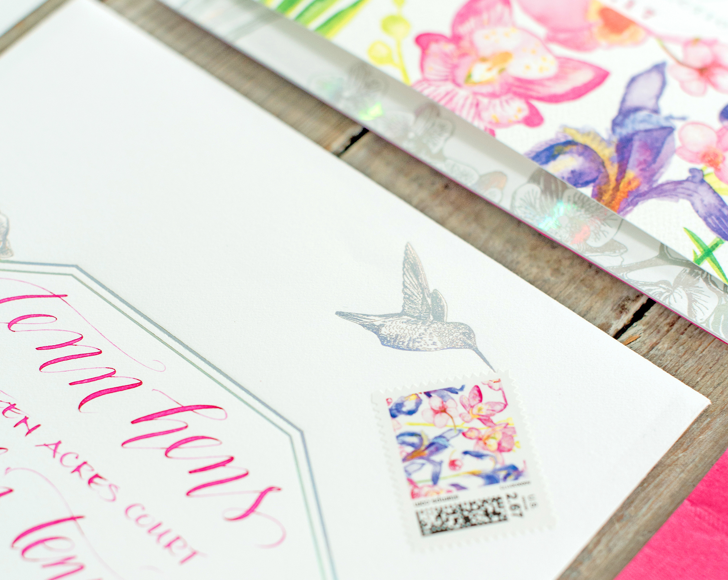 hummingbird stamp