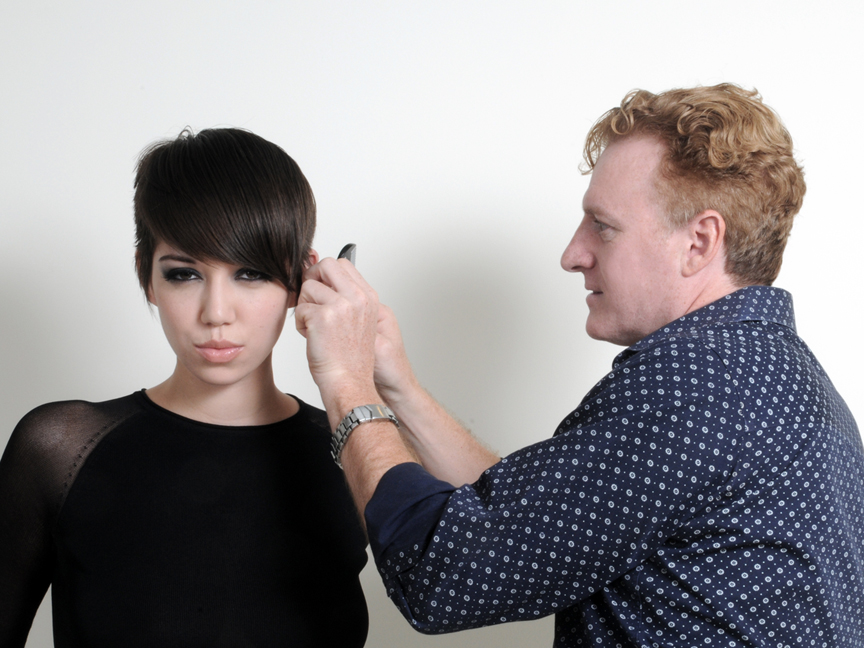 Behind The Scenes - Donald Scott NYC - Carving Comb