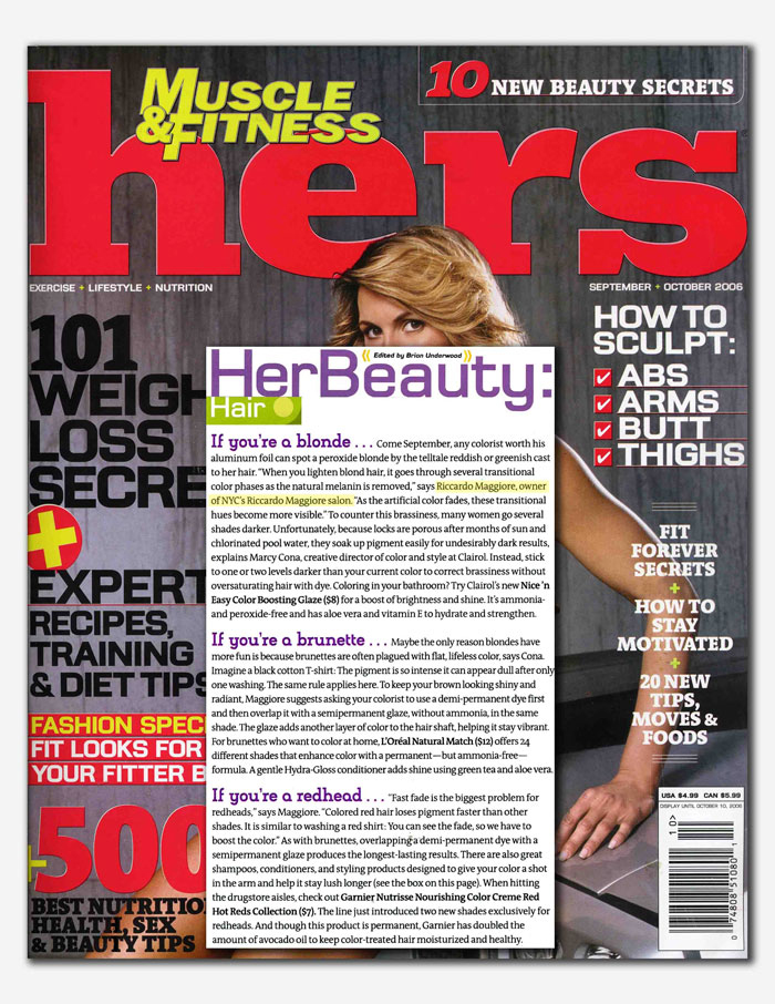 HERS Muscle & Fitness Magazine