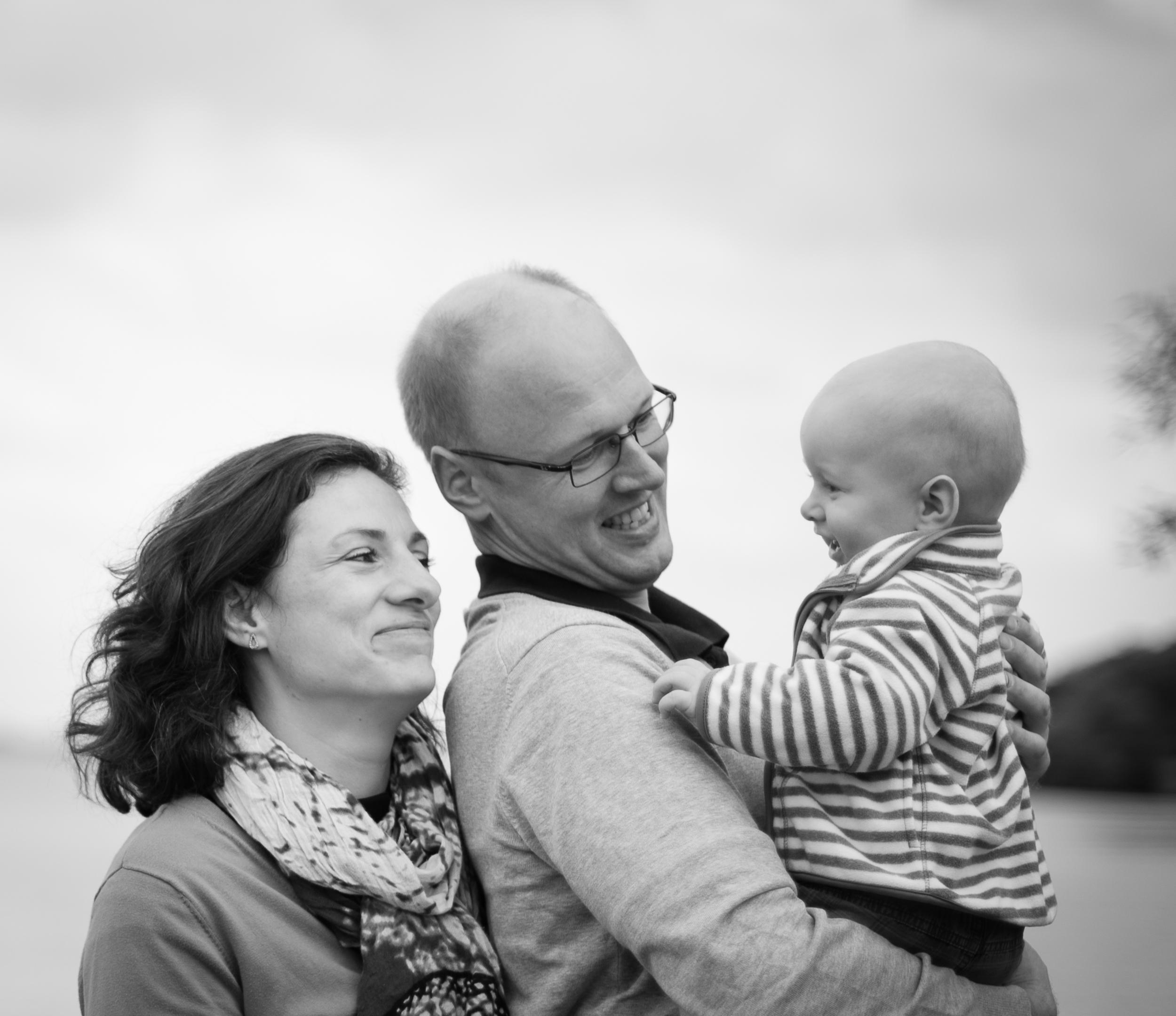 Family Portraits, Esrum Lake, Denmark.