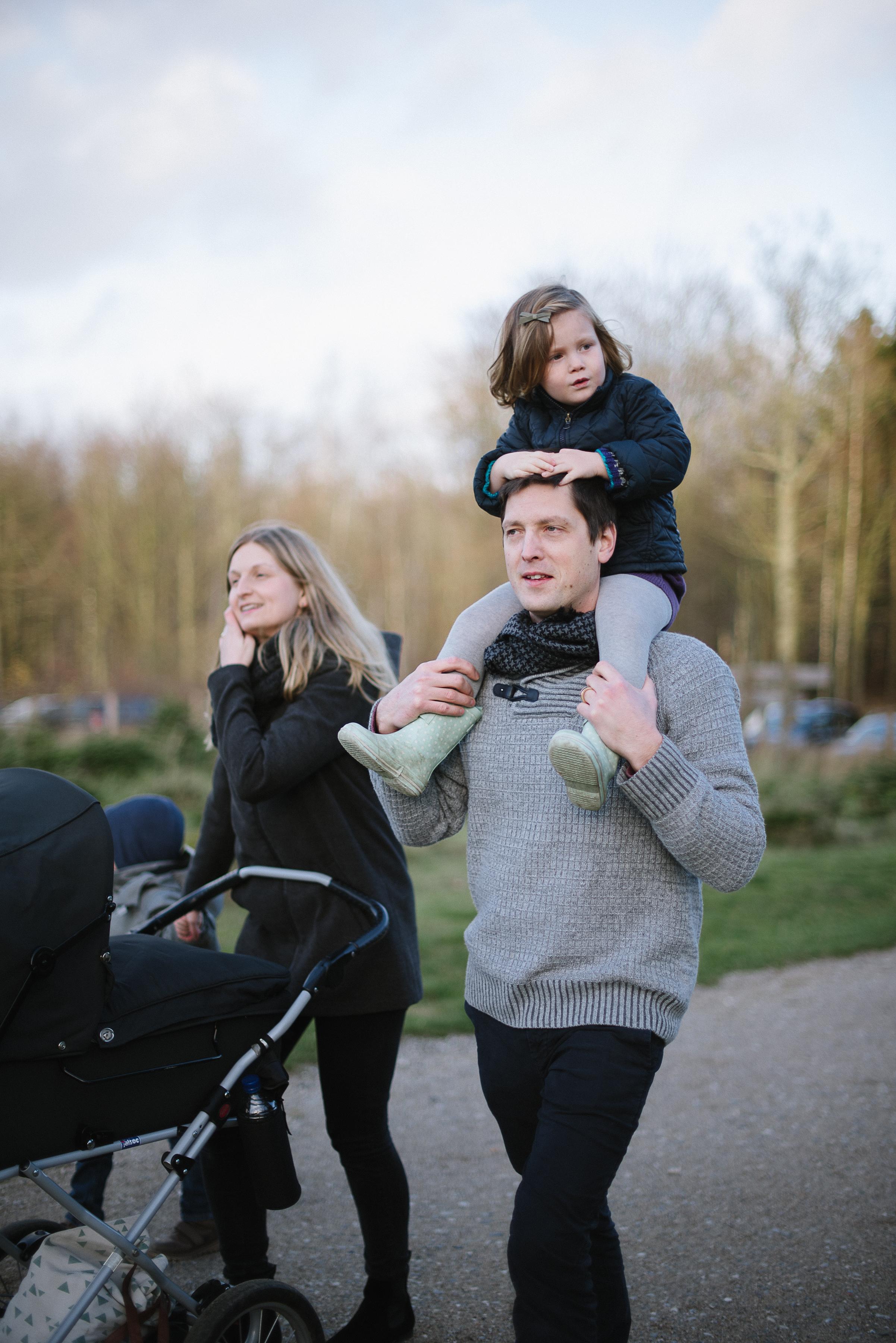 Family Portraits, Winter shoot, Denmark.