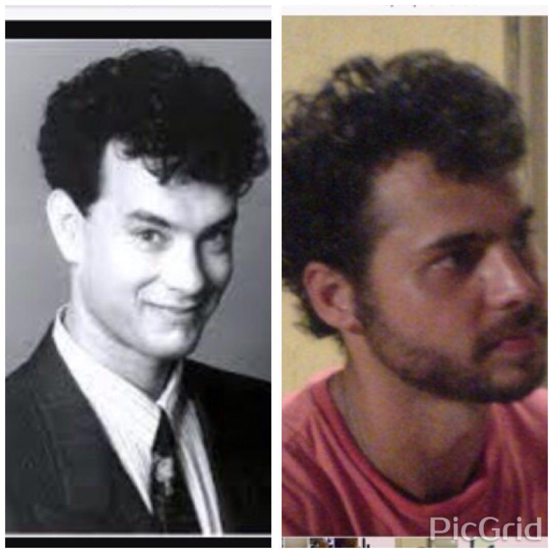 Tom Hanks e Rodrigo Ahmed