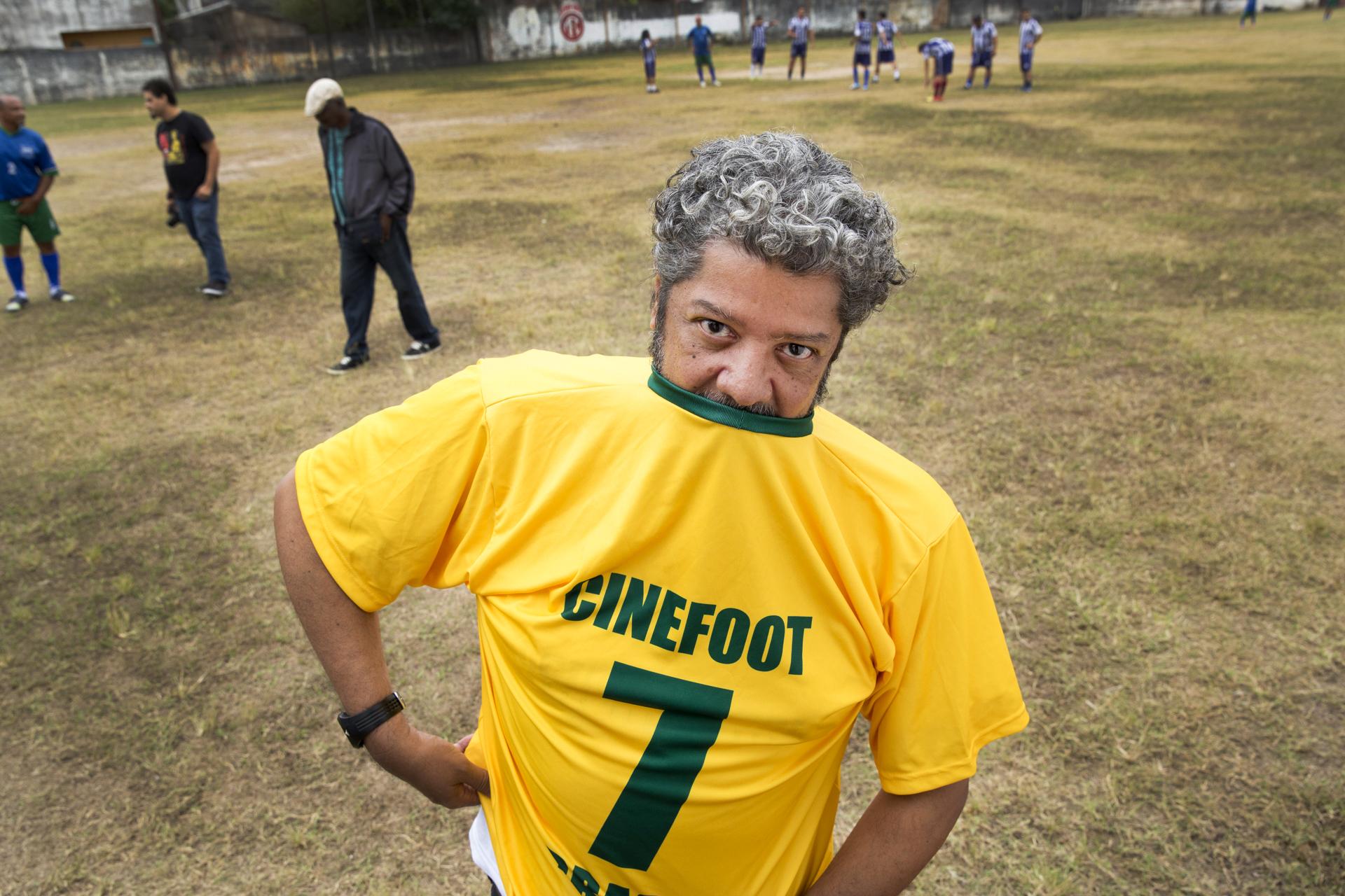 Antonio Leal veste a camisa da sétima edição do CINEfoot