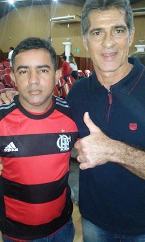 O torcedor também tem um carinho pelo Flamengo