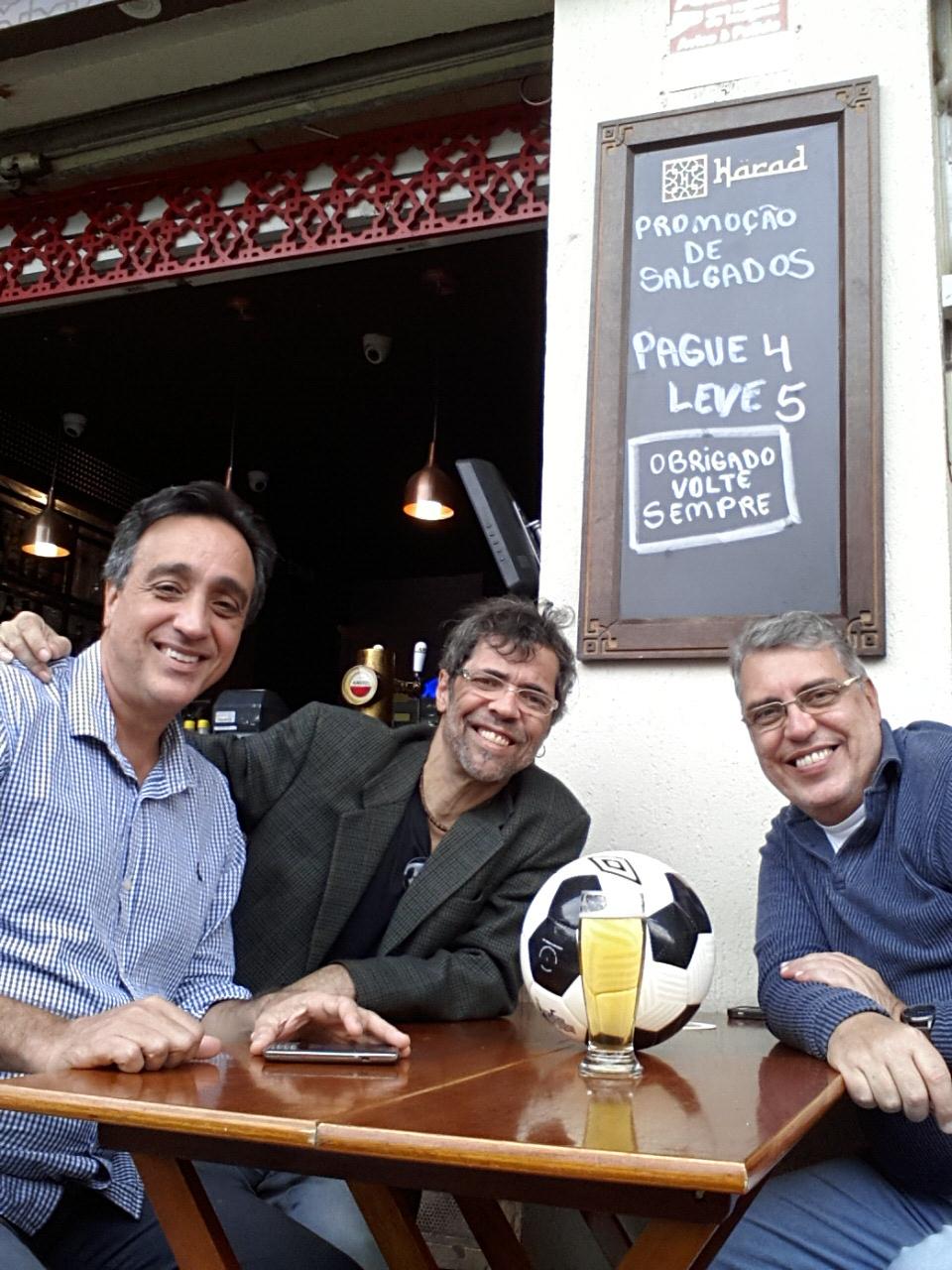 Cria de Santa Teresa, Sergio Pugliese bateu um papo com Claudio Duarte e Mauro Ferreira