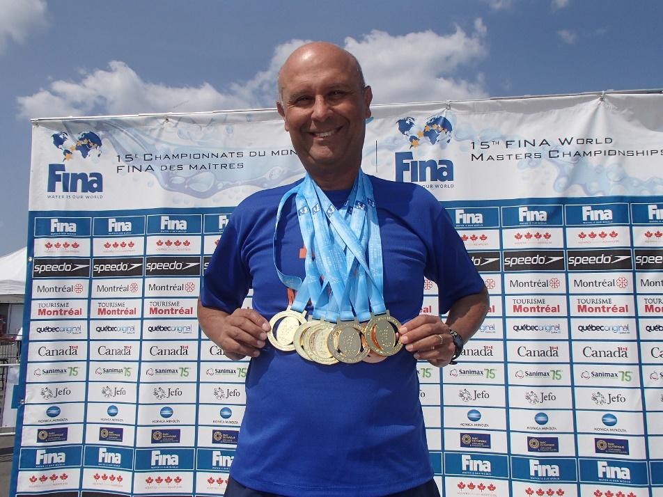 Djan Madruga é um dos maiores nadadores que o Brasil já teve