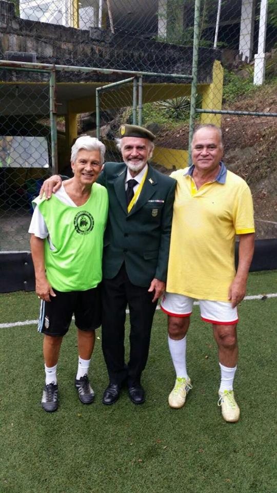 Celso Bueno, Aziz Ahmed e Alberto Ahmed