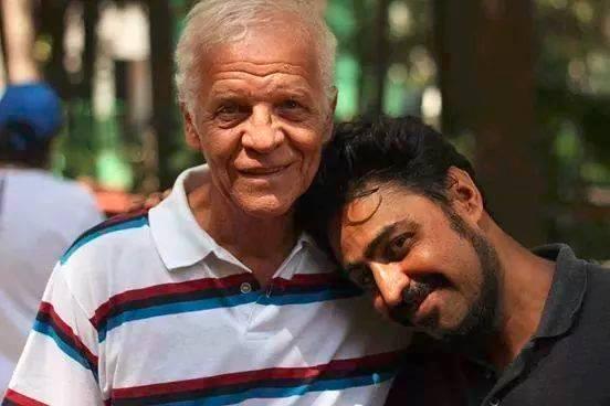 Ademir da Guia e Marcelo Mendez (Foto: Lucas Ivoglo)