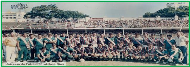 Fluminense FC – Entrega das faixas de tri campeão – 83/84/85