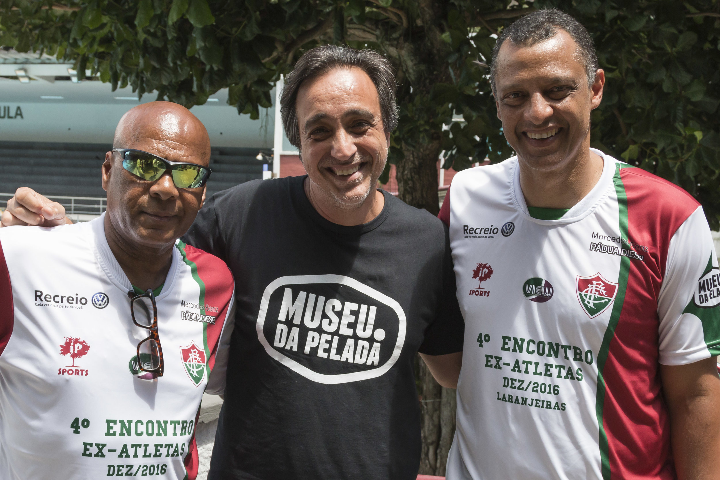 Pintinho, Sergio Pugliese e Alexandre Torres